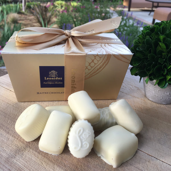 Leonidas All White Chocolate Assortment - Love Chocolate