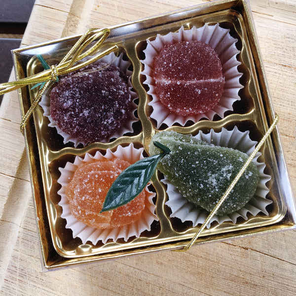 Fruit Jellies -- 4-pack