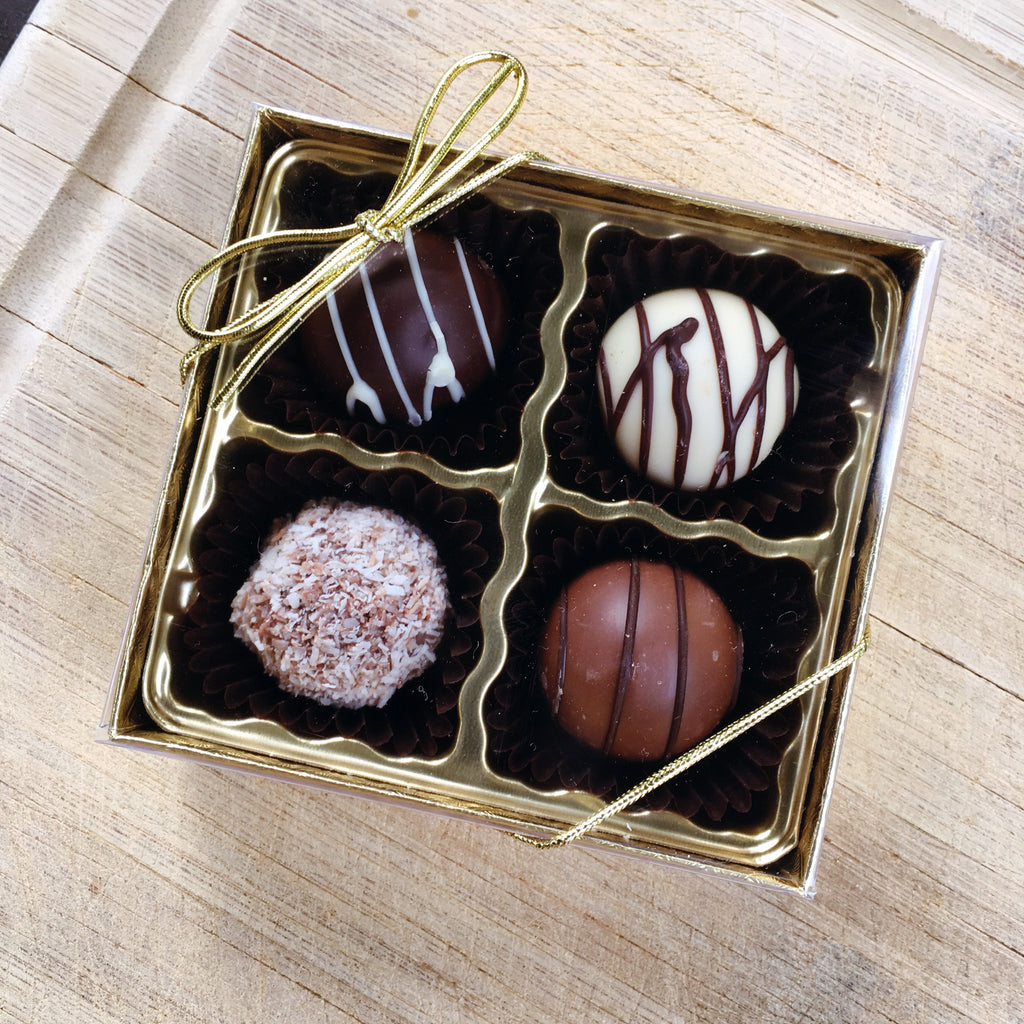 Perle Truffe Four-Pack - Love Chocolate