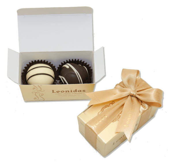 Leonidas Party Favor 2-pack - Love Chocolate