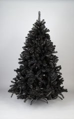 Black Colorado Pine Artificial Christmas tree. 6.5ft tall, 4ft wide