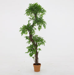 Japanese Grand artificial Topiary Tree, a 6ft Tall artificial tree