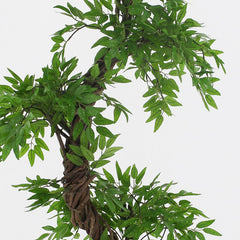 Tropical Fruticosa tree, deluxe artificial tree plant, 6ft tall