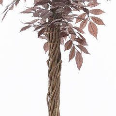 Opulently styled artificial tree- from the Red Wisteria family
