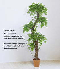 Tropical Oriental Sculptured Tree, Exclusive Artificial Tree