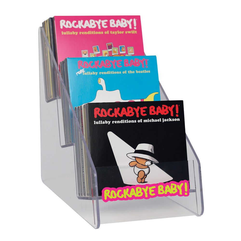 Rockabye Baby! Display (holds 15 CDs)