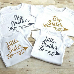 Personalized Little Sister/Big Brother Onesie