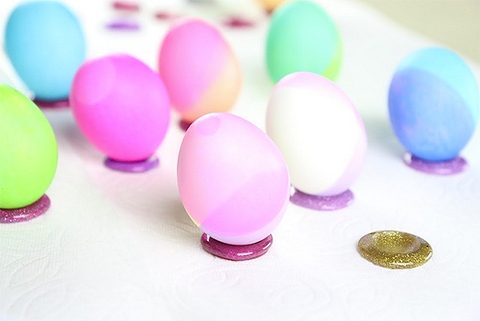diy easter egg stands easy