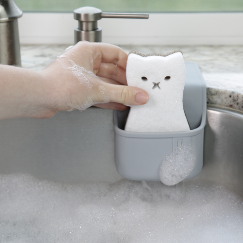 Cat Kitchen Sponge-Kitchen Sponge-Holster Brands