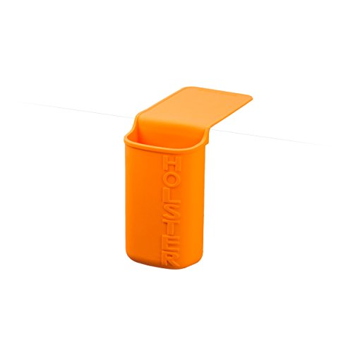Holster Brands Lil' Holster Store Anything Storage Holder, Any, Orange-Holster Brands