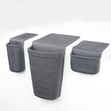 Beauty Pack Sink Organizer Gray