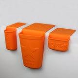 Beauty Pack Bathroom Organizer Orange
