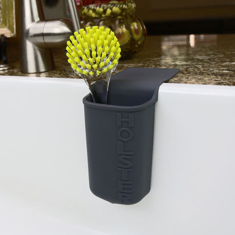 Lil' Holster ANY - Kitchen Dish Brush Holder, Black-Lil' Holster-Holster Brands