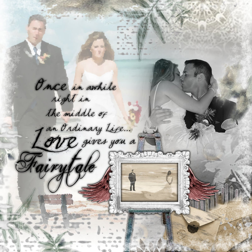 A Fairytale... A layout created for my Sister! An incredibly beautiful wedding on the beaches of Punta Cana
