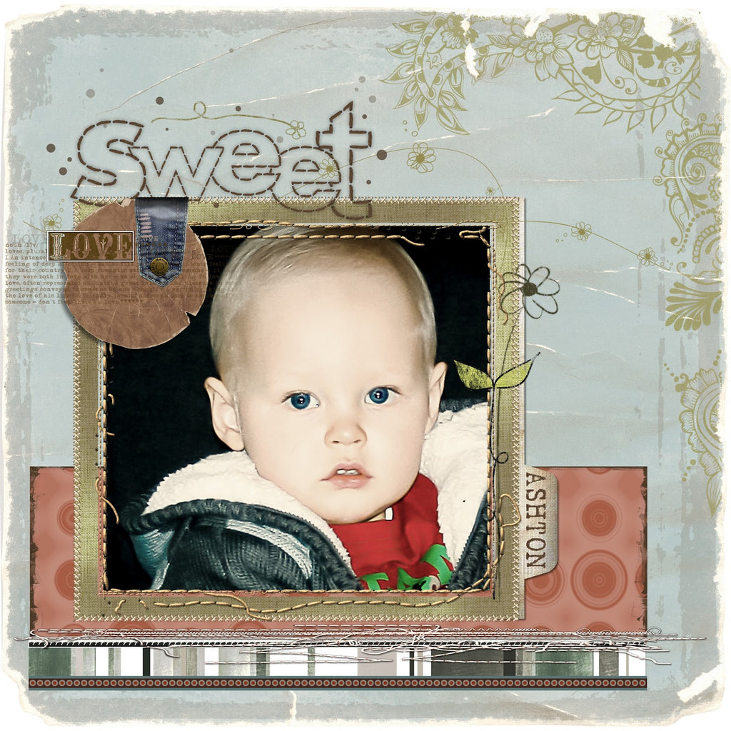 A Fun Springy Layout Using some of the Fun Freebies added today! Have Fun!