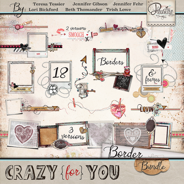 Crazy For You: Borders Bundle