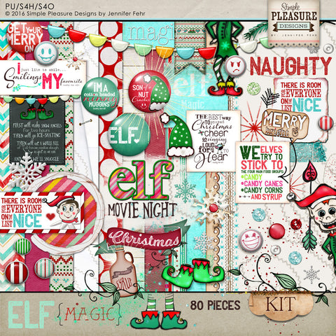 Merry little Christmas: Elf Magic