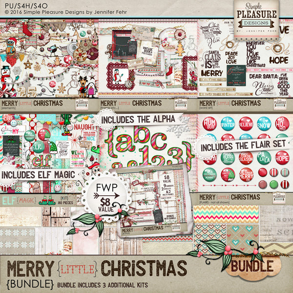 Merry little Christmas BUNDLE