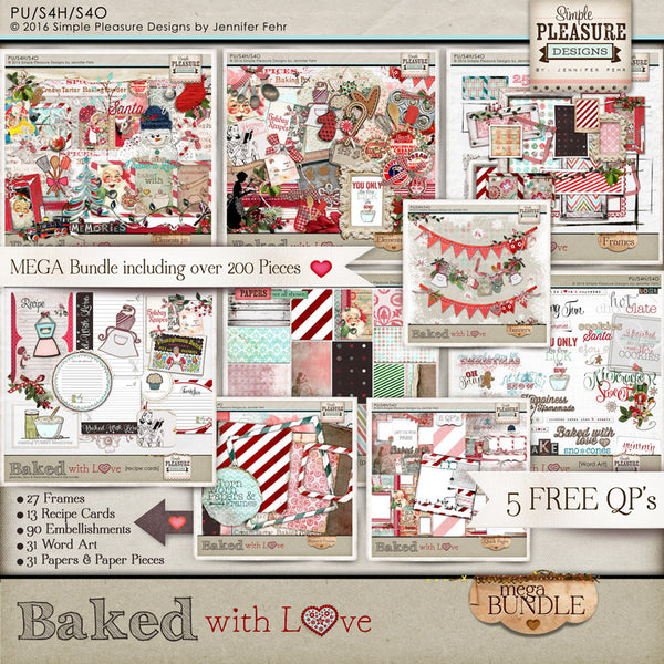 Baked with Love MEGA Bundle