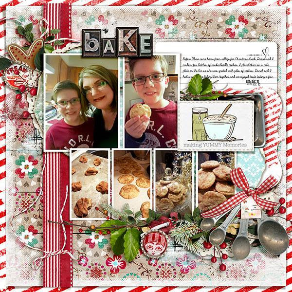 Baked with Love Frame Set