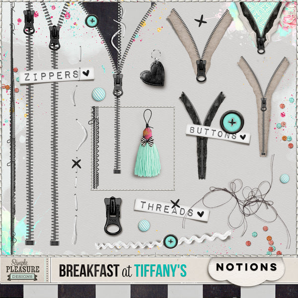 BREAKFAST AT TIFFANY'S: Notions Pack