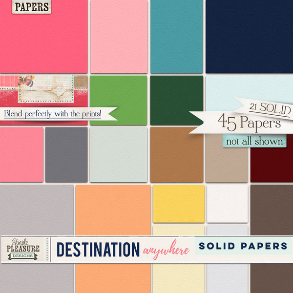 Destination Anywhere Papers