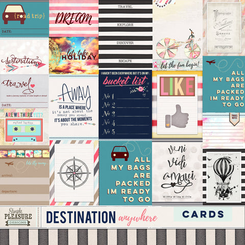 Destination Anywhere Journal Cards