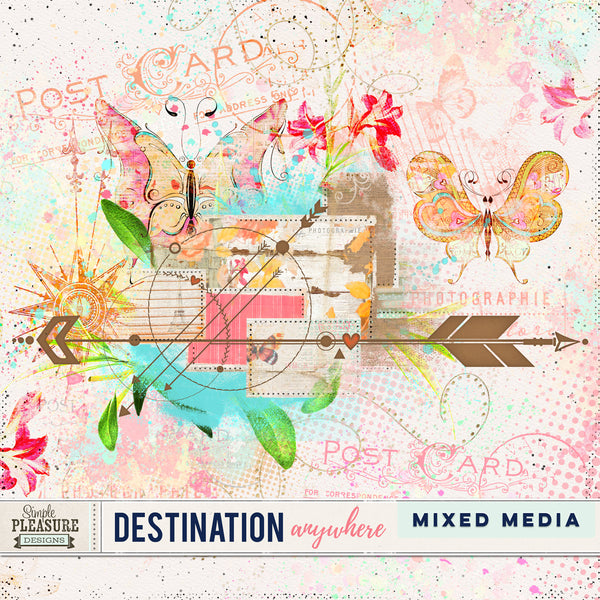 Destination Anywhere: Mixed Media