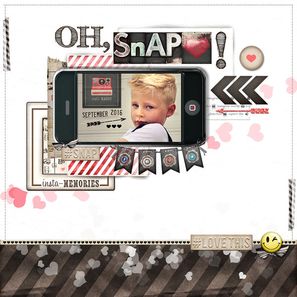 Insta-Frame LOVE Quick Pages