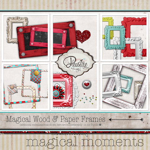 Magical Moments: {Frames & Die Cuts}