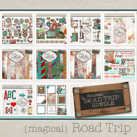 Magical Road Trip BUNDLE: {Disney Themed}