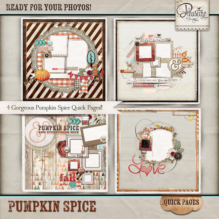 Pumpkin Spice Quick Pages