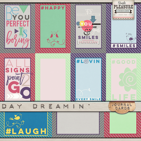 Day Dreamin' Journal Cards