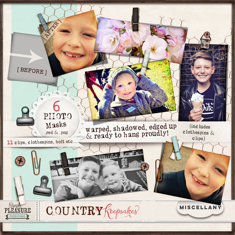 COUNTRY KEEPSAKES: MISCELLANY