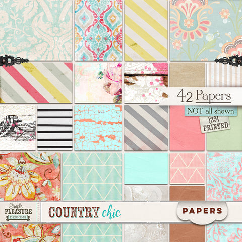 COUNTRY CHIC: Paper Pack