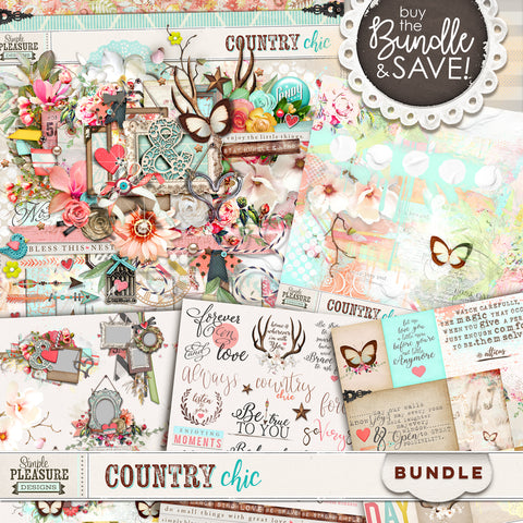 COUNTRY CHIC: BUNDLE