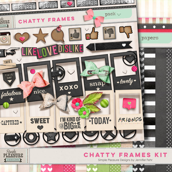 CHATTY FRAMES