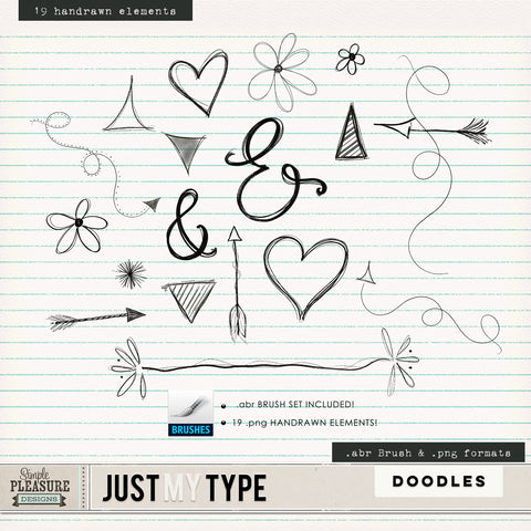 Just my Type: Doodles