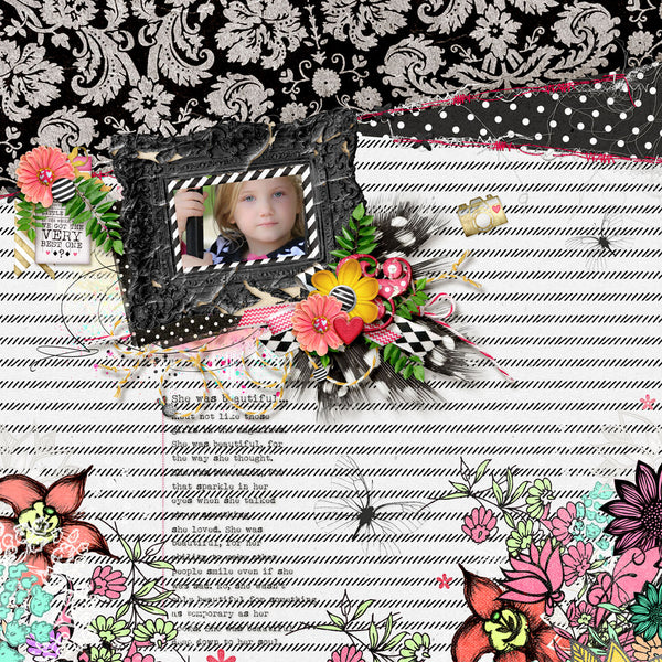 What Little Girls are Made of: Mixed Media