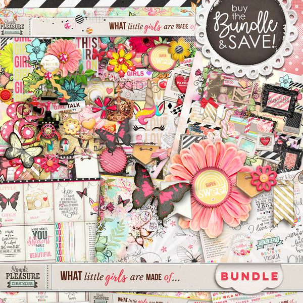 WHAT LITTLE GIRLS ARE MADE OF: BUNDLE