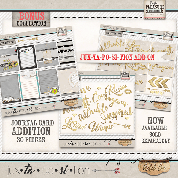 Jux-ta-po-si-tion Journal Cards