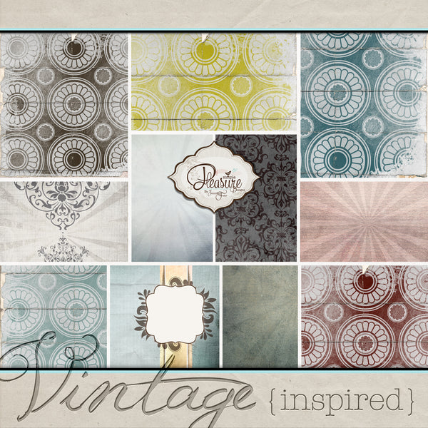 Vintage Inspired BUNDLE