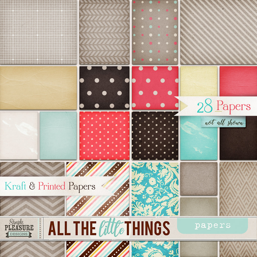 All the Little Things: papers