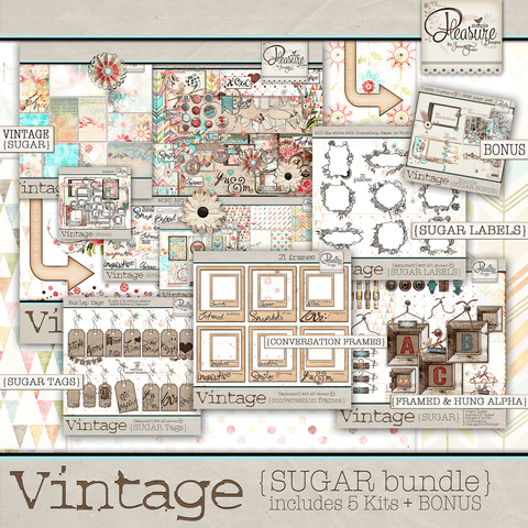 Vintage Sugar Bundle