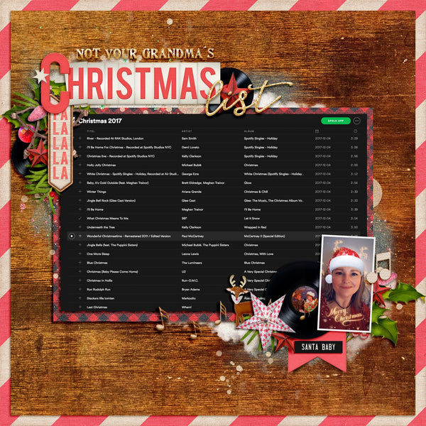 M&H Retro Christmas Records