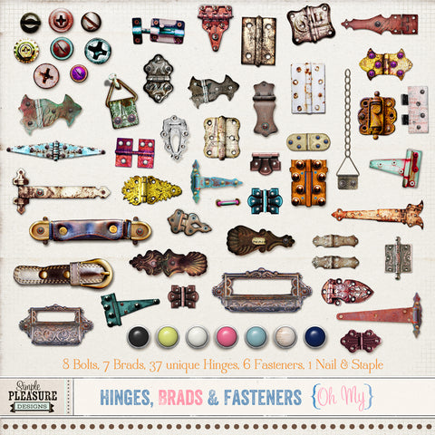 HINGES BRADS & FASTENERS: OH MY!