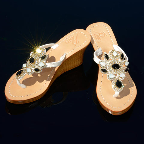 Jeweled Wedges