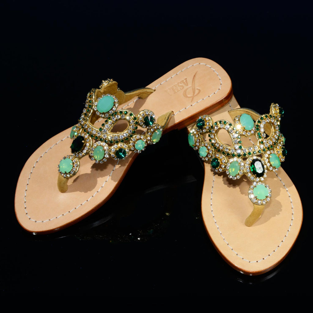 7abbbd1fd42 Pasha St. Vincent – Gorgeous Jeweled Shoes Pasha