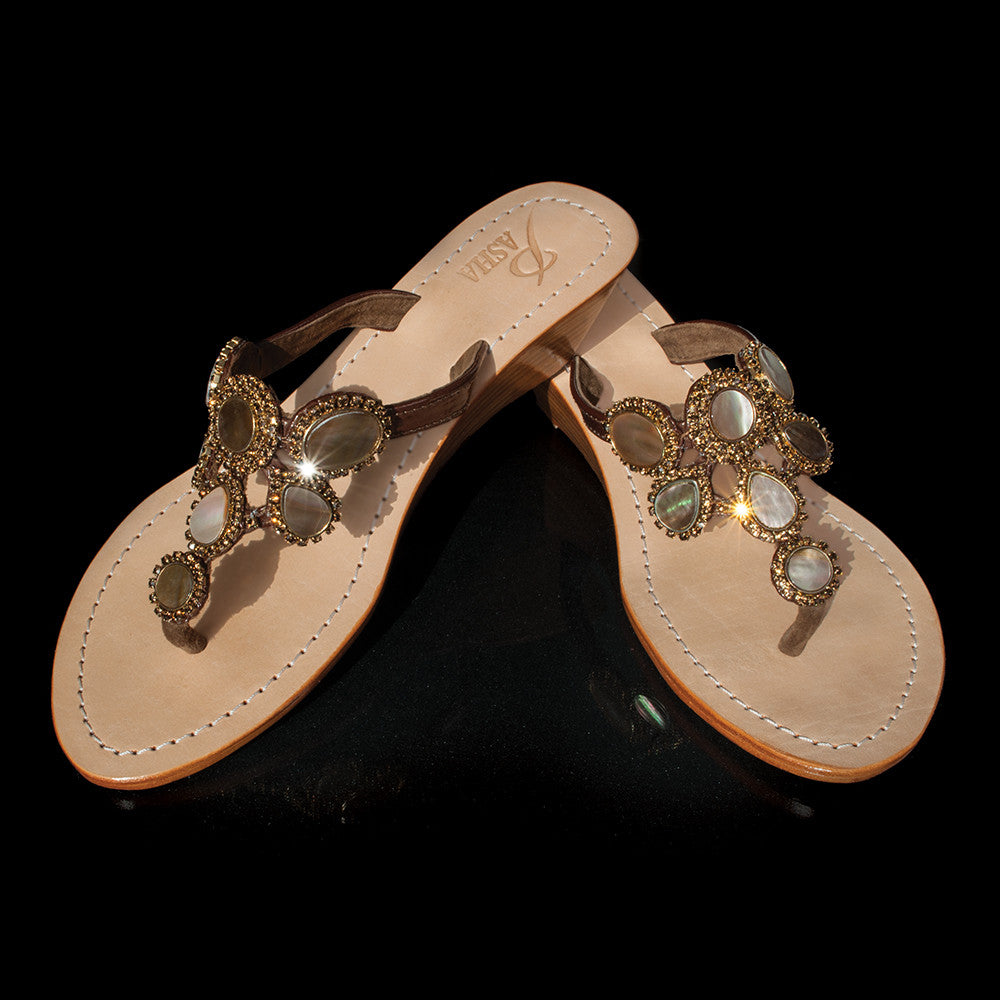 Gorgeous Jewelry Wedges Pasha Amalfi