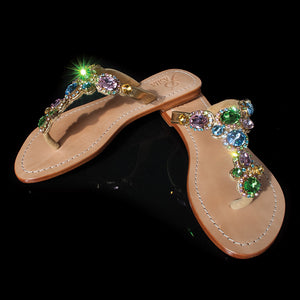 Gorgeous Jewelry Flats Pasha Wolin